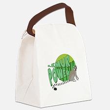 Lemur Power Canvas Lunch Bag