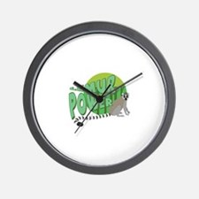 Lemur Power Wall Clock