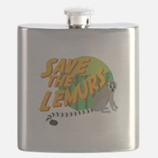 Save the Lemurs Flask