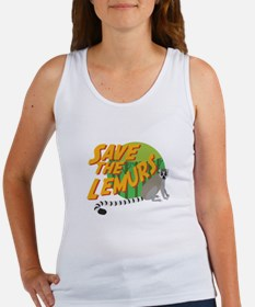 Save the Lemurs Tank Top