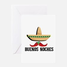 Buenos Noches Greeting Cards