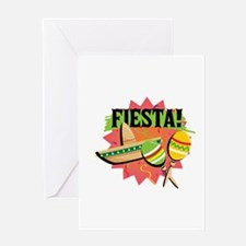 Mexican Fiesta Greeting Cards