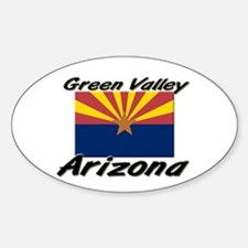 Green Valley Arizona Oval Decal