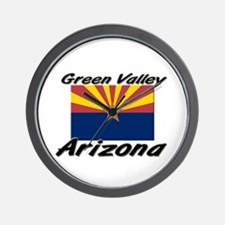 Green Valley Arizona Wall Clock