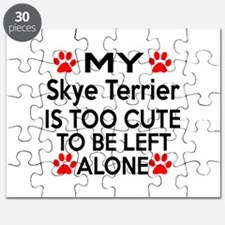 Skye Terrier Is Too Cute Puzzle