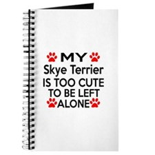 Skye Terrier Is Too Cute Journal