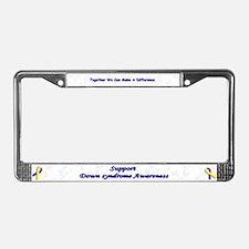 Unique Awareness License Plate Frame