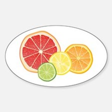 Citrus Fruit Decal