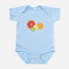 Citrus Fruit Body Suit