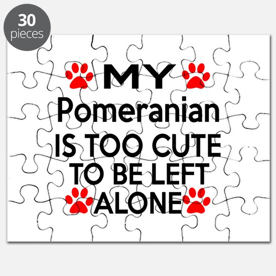 Pomeranian Is Too Cute Puzzle
