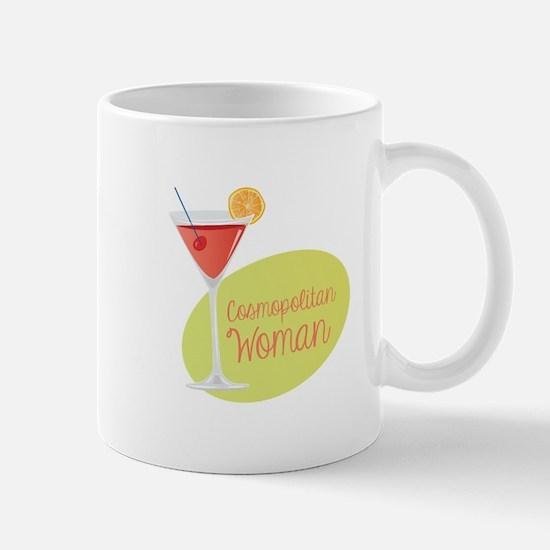 Cosmopolitan Woman Mugs