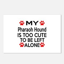 Pharaoh Hound Is Too Cute Postcards (Package of 8)
