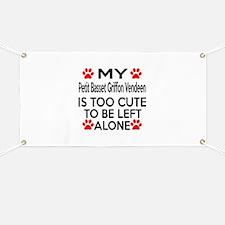 Petit Basset Griffon Vendeen Is Too Cute Banner