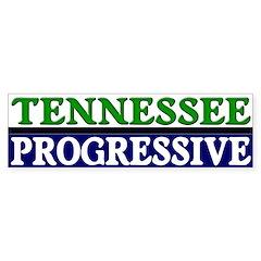 Tennessee Progressive Bumper Bumper Sticker