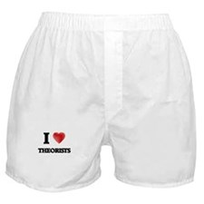 I love Theorists Boxer Shorts