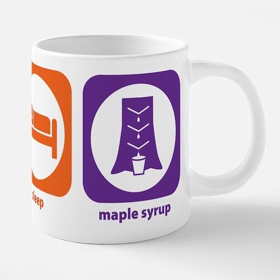 Eat Sleep Maple Syrup Mugs