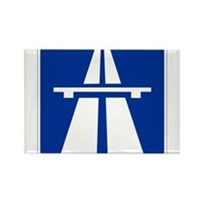 German Autobahn Rectangle Magnet (10 pack)