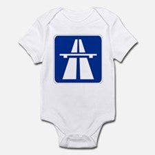 German Autobahn Infant Bodysuit
