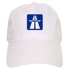German Autobahn Baseball Cap