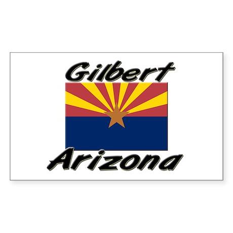Gilbert Arizona Rectangle Sticker