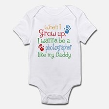 Photographer Like Daddy Infant Bodysuit