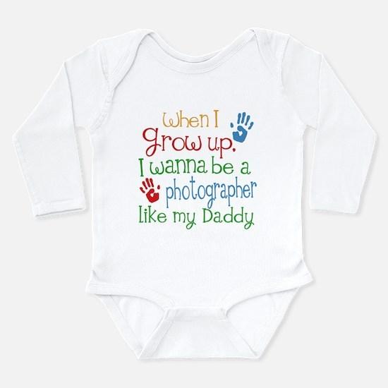 Photographer Like Dadd Long Sleeve Infant Bodysuit