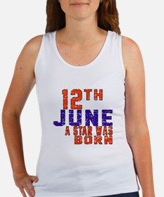 12 June A Star Was Born Women's Tank Top