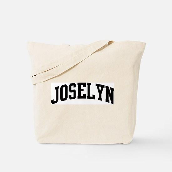 JOSELYN (curve) Tote Bag