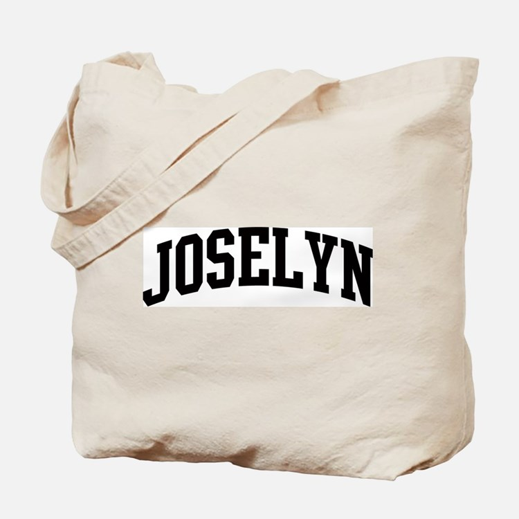 JOSELYN (curve) Tote Bag