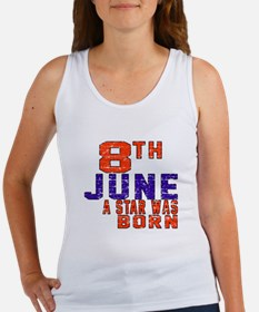 08 June A Star Was Born Women's Tank Top