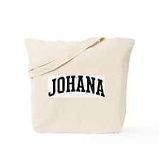 JOHANA (curve) Tote Bag
