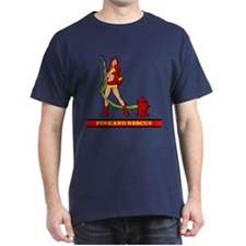 FIREFIGHTER GIRL T-Shirt