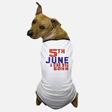 05 June A Star Was Born Dog T-Shirt