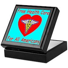 Free Health Care For All Amer Keepsake Box