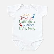 Plumber Like Daddy Infant Bodysuit