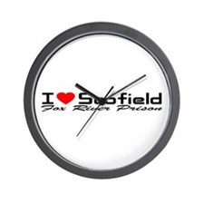 I Love Scofield - Fox River Wall Clock