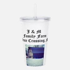 J M Family Farm Acrylic Double-wall Tumbler