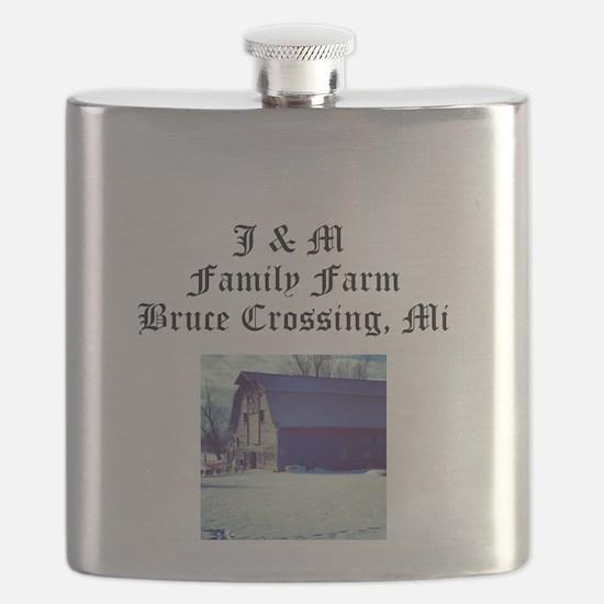 J M Family Farm Flask