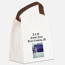 J M Family Farm Canvas Lunch Bag
