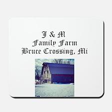 J M Family Farm Mousepad
