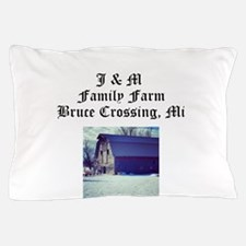 J M Family Farm Pillow Case