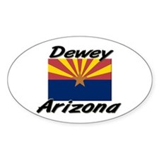 Dewey Arizona Oval Decal
