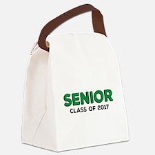 Senior Class 2017 - Green Canvas Lunch Bag