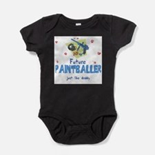 Cool Paintball Baby Bodysuit