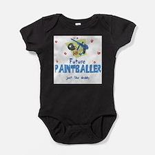 Unique Paintballing Baby Bodysuit