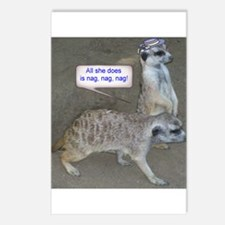 Nagging meerkat Postcards (Package of 8)