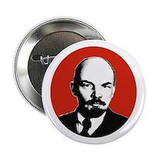 Lenin Black, White and Red Badge