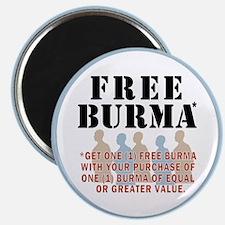 Free Burma Magnet