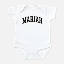 MARIAH (curve) Infant Bodysuit