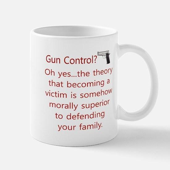 Gun Control. Mugs